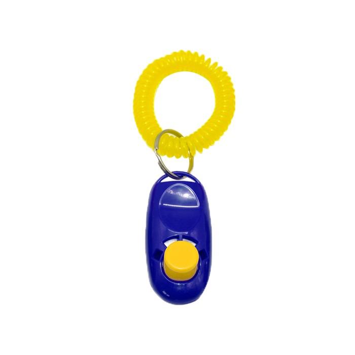 Clicker Para Adestramento Canino Eleva Mundi - Azul