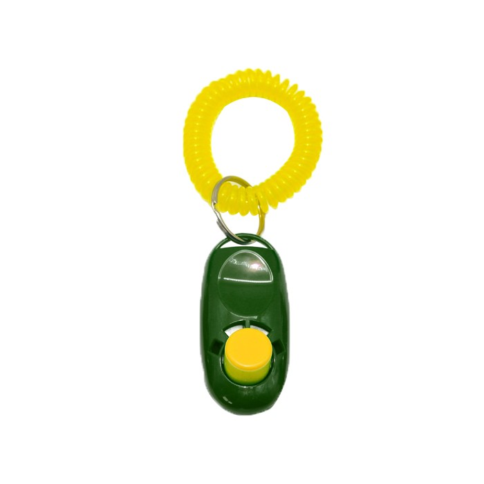 Clicker Para Adestramento Canino Eleva Mundi - Verde