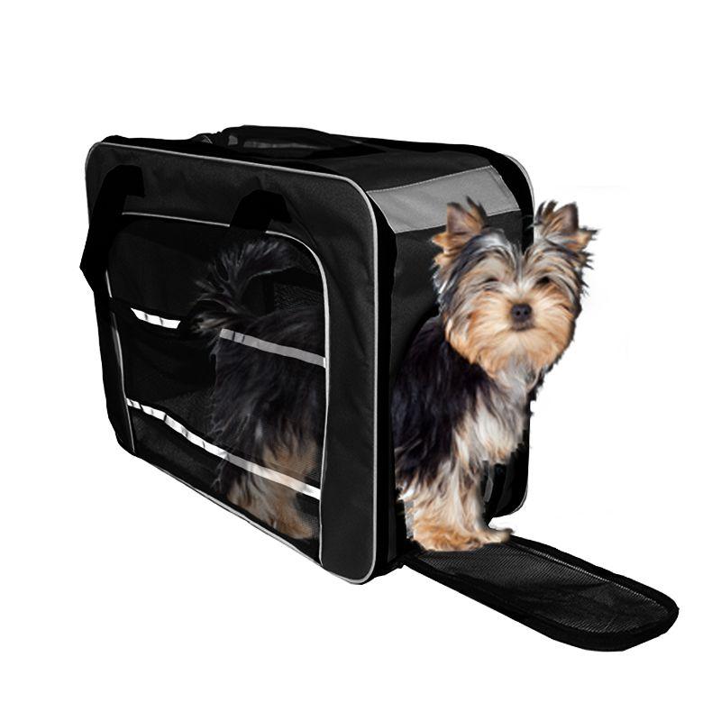 Bolsa de Transporte PET em Pé (Cor Preto) - Eleva Mundi