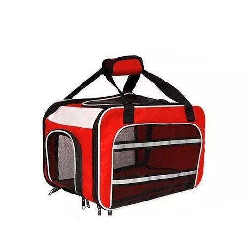 Bolsa Dog Fly para cabine do avião modelo Cia Latam - Vermelho