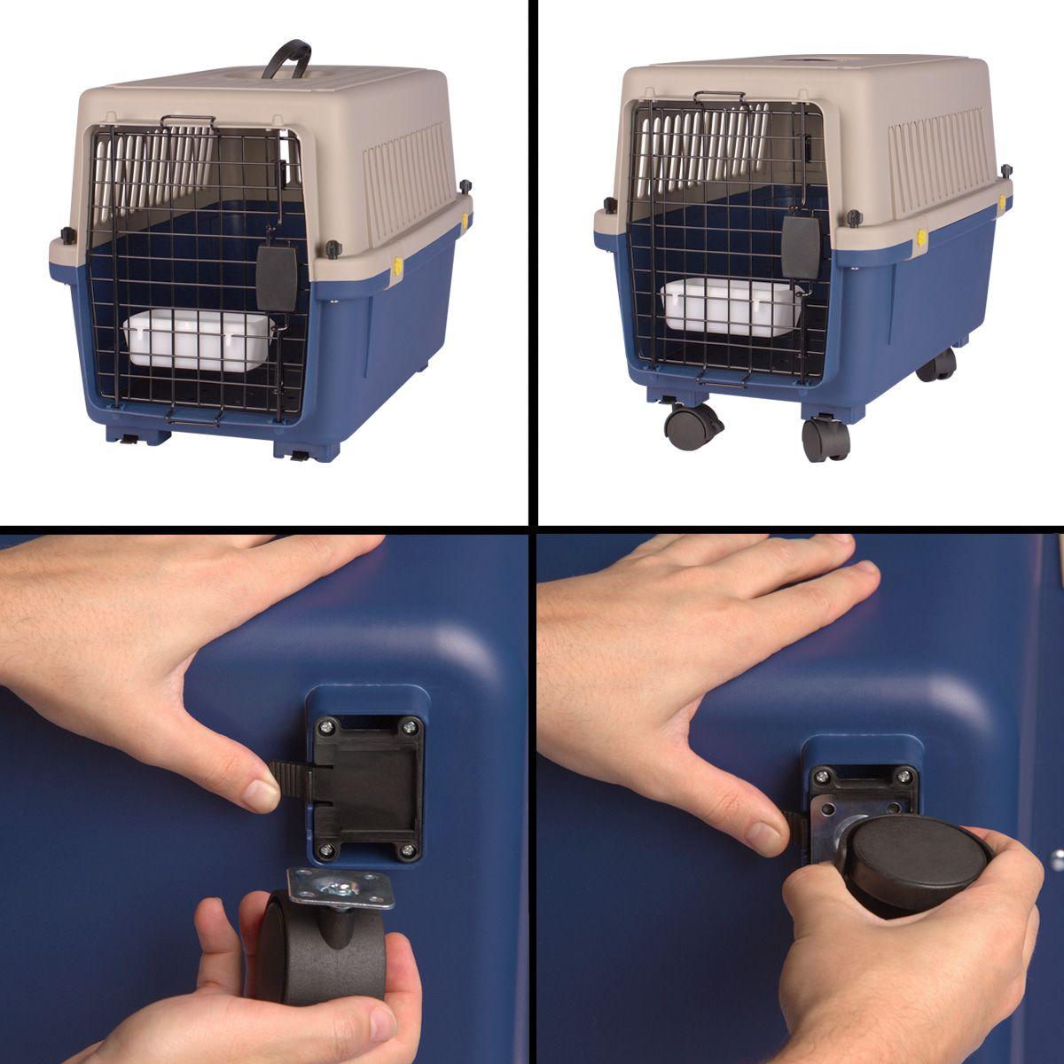 Caixa de Transporte Dog Fly modelo IATA Tamanho 3 N3