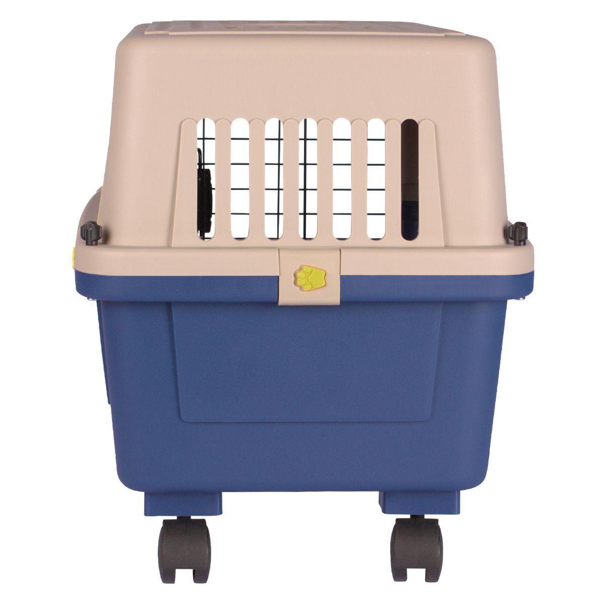 Caixa de Transporte Dog Fly modelo IATA Tamanho 3 N3 + Bebedouro