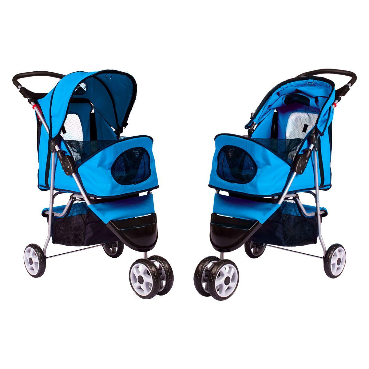 Carrinho Dog Fly modelo Comfort Pet - Azul