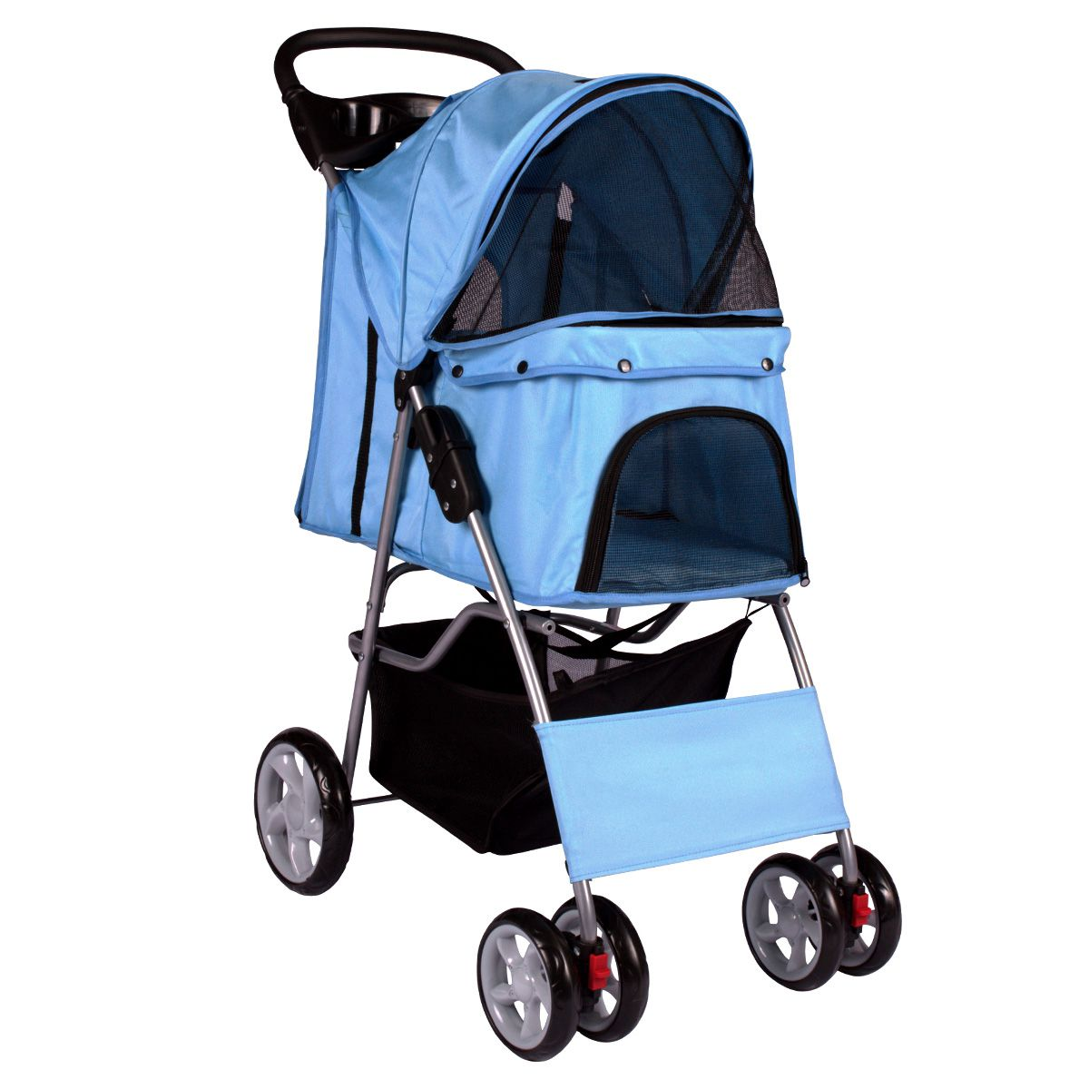 Carrinho Dog Fly modelo Pet Deluxe - Azul