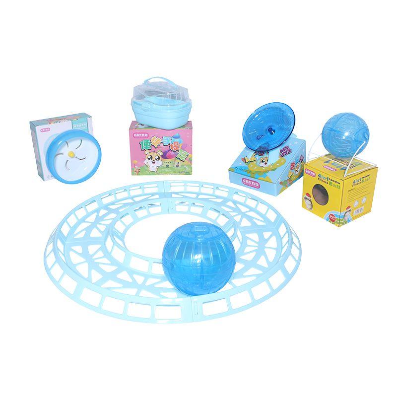 Kit Hamster Park Azul - Eleva Mundi