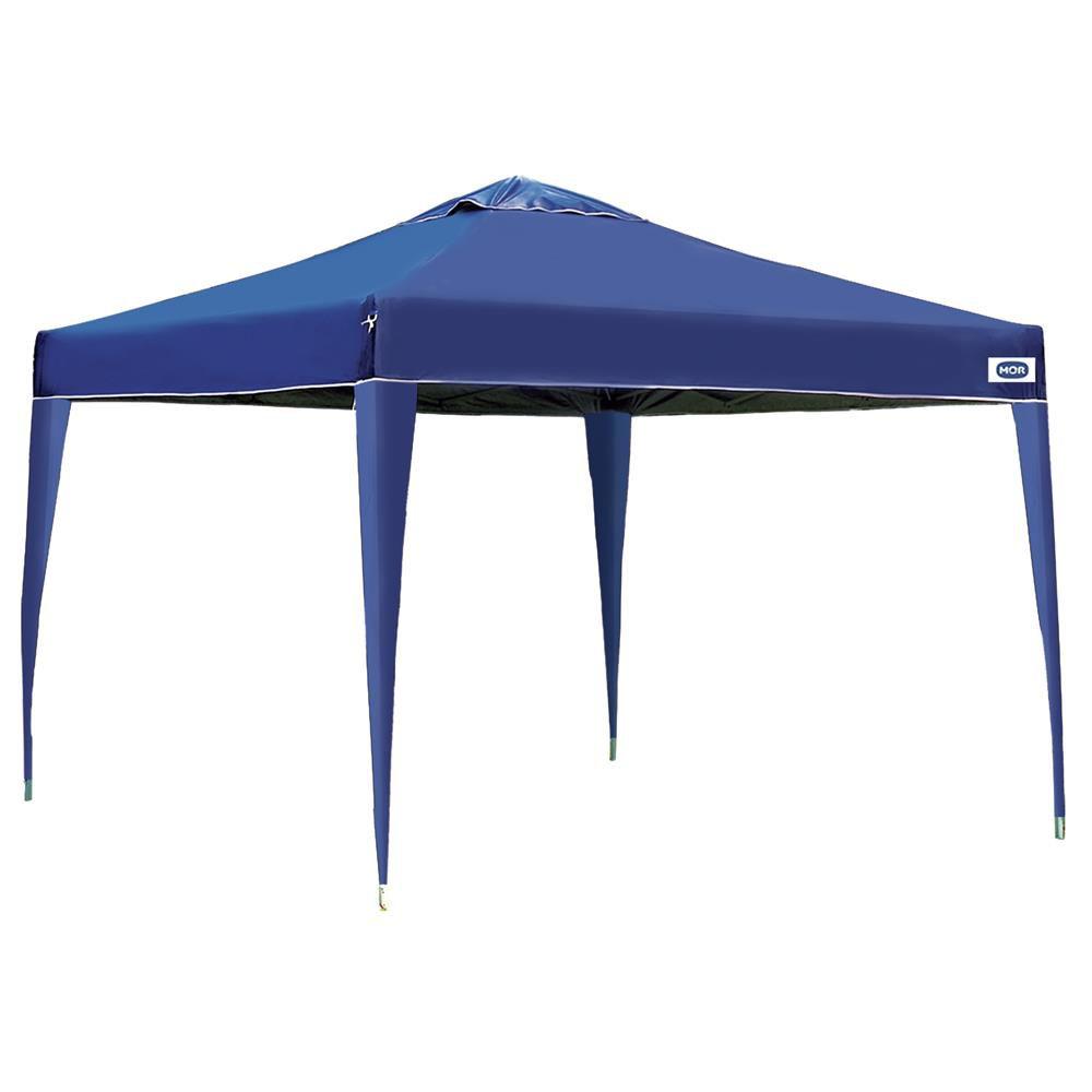 Gazebo 3x3 MOR X-Flex Em Oxford - Azul