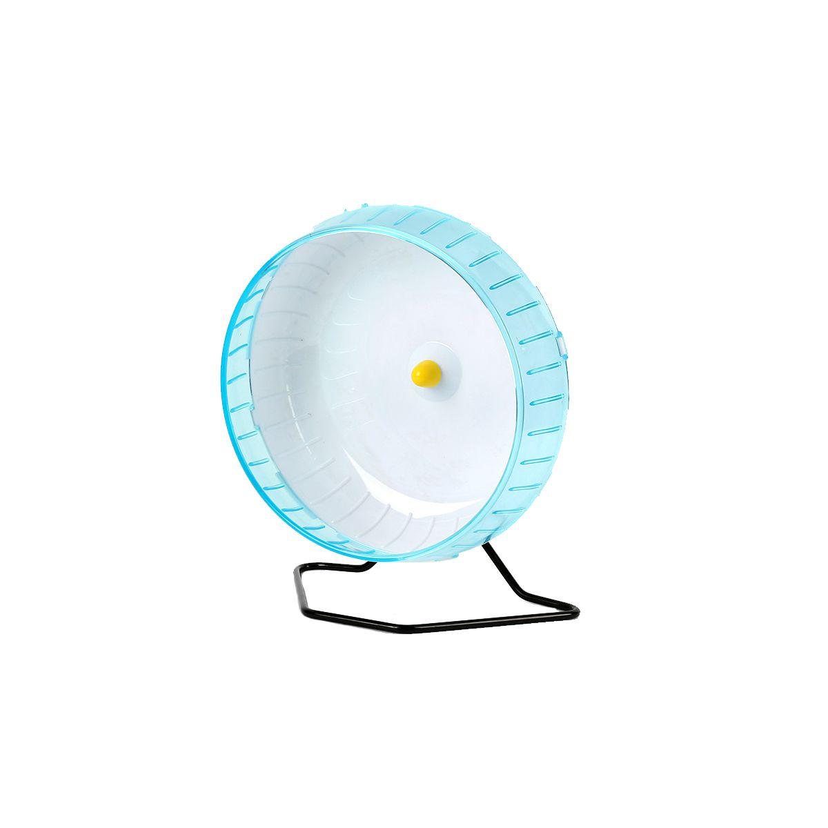 Rodinha de Grade Spin 30cm para Roedores Grandes - Azul