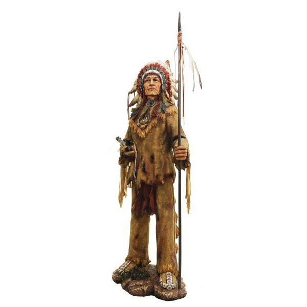 Índio Cacique Com Lança Oldway  - Arrivo Mobile