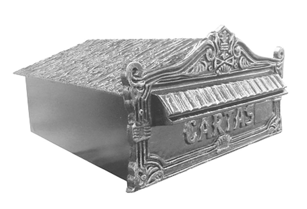 Caixa De Correio Em Alumínio Sem Pintura  - Arrivo Mobile