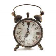 Relógio De Mesa Complete World Oldway - Metal E Vidro