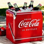 Cooler Coca Retro Vintage - Porta Bebidas Metal