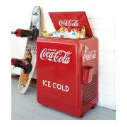 Cooler Coca Retro Vintage - Porta Bebidas Metal 67 Litros