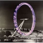 Tela Impressa London Eye C/ Ledflash Fullway