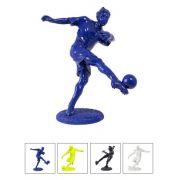 Estátua Jogador De Futebol Resina Fullway