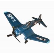 Aviao Azul Navy Top 310b Em Metal Oldway 40x130x110cm