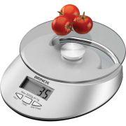 Balanca Digital Com Relogio Para Cozinha 5 Kg Brinox