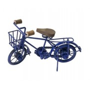 Bicicleta Decorativa Ii Em Metal