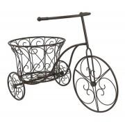Bicicleta Garden Marrom Em Ferro 44x32x63cm