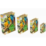 Book Box Cj 4 pc Araras Amazonas