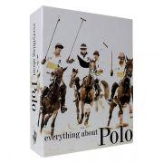 Livro Caixa Decorativo Book Box Everything About Polo