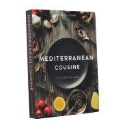Livro Caixa Decorativo Book Box Mediterranean Cousine