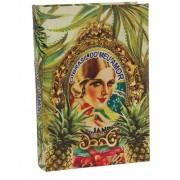Brasil Chic - Livro Caixa Abacaxi 30x21x7cm