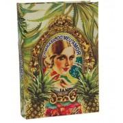 Brasil Chic -Livro Caixa Book Box Abacaxi