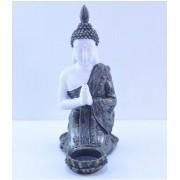 Estatua Imagem de Buda Castiçal Mod A Importado