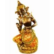 Estatua Imagem de Buda Com Tecido B Importado