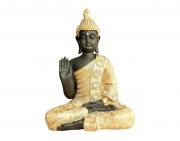 Buda Decorativo Resina - Estátua Escultura De Buda 40cm