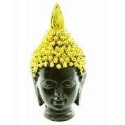 Estatua Imagem de Buda Tibetano Dourado P Importado