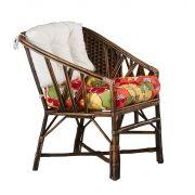 Cadeira Baixa Rattan Vime Natural