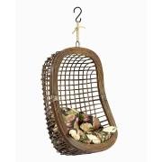 Cadeira de Balanço para varanda com almofada