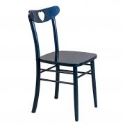 Cadeira de jantar Lira Coração Azul