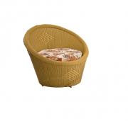 Cadeira Poltrona Ofurô Em Ferro Galvanizado 85x100cm