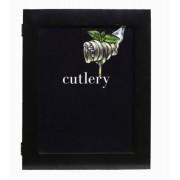 Caixa De Talheres Cutlry Preta