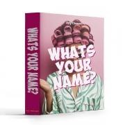 Caixa Livro Book Box Whats Your Name? 26x20x7cm