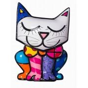 Cofre Romero Britto Gato - Resina - 14cm x 11cm x 6cm