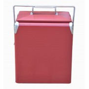 COOLER FERRO LISO 17L RED 43X32X23,5CM