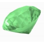 Diamante De Cristal Verde 30mm Imp