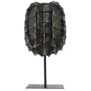 Escultura Resina Tartaruga Natural 57x28x12cm