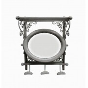 Espelho Movel/Pratel Provencc/Cabideiros Oldway
