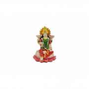 Estatua Enfeite Imagem de Lakshmi De Resina Importado 5cm