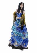 Estatua Imagem de Cigana G Azul
