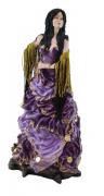 Estatua Imagem de Cigana G Roxa