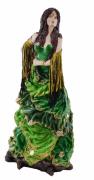 Estatua Imagem de Cigana G Verde