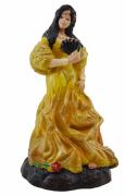 Estatua Imagem de Cigana P Amarela