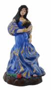 Estatua Imagem de Cigana P Azul