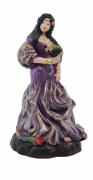 Estatua Imagem de Cigana P Roxa