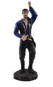 Estatua Imagem de Cigano P Azul